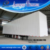 China Manufacture Van Type Box Semi Trailer for Sale (step-wise optional)