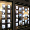 Thin LED Crystal Light Box with Acrylic Frameled Crystal Light Box for Real Estate Window Display