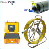 Pipe Inspection Camera Pan & Tilt Camera Fiber Glass Cable 7YA