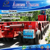 Special Purpose Vehicle Hydraulic Modular Low Bed Semi Trailer