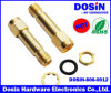 Gold Plated RF Connector SMA Jack to SMA Plug Connector Adapter
