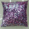 Sequin Embroidery Cushion Fashion Sequin Pillow (XPL-01)
