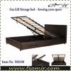Hydraulic Lift up PU Bed Frame / Storage Bed