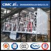 Cimc Huajun 3axle Van Trailer with Side Curtain