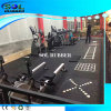 SGS Tested Heavy Duty DIY Logo Gym Rubber Flooring