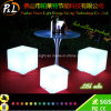 Waterproof Mood Lighting 60cm Illuminated Outdoor Cube Stool