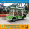 8 Seats Factory Direct Sales of Green Electric Sightseeing Car
