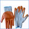 Household Orange Rubber Cotton Gloves