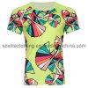 Promotional Round Neck T-Shirts Sublimation Printing (ELTMTJ-217)