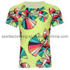 Promotional Round Neck T-Shirts Sublimation Printing (ELTMTJ-217)