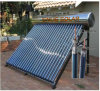 Roof Mounted Close Coupled Solar Water Heater with Heat Pipe in The Tube