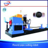 China Efficient Steel Pipe CNC Plasma Flame Cutting and Beveling Equipment