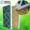 Pleated Cardboard Frame Air Conditioner Panel Filter