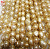Gold/Champagne Baroque Freshwater Pearls, AA