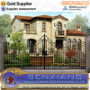 with High Quality Wrought Iron Gate