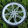 6X2 8X2 9X2 9X3 10X1.75 10X2 12X1.75 12X2.125 16X1.75 20X2 20X1.75 Plastic Spoker Rim Wheel for Flat Free PU PVC Foam Tire