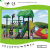 Kaiqi Small Forest Themed Children′s Playground with Slide (KQ30101A)