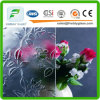 Clear Rich Flower Pattern Door Glass