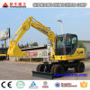 Xiniu New 6t 0.25cbm Bucket 4X4wd Hydraulic Wheel Excavators for Sale