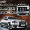 Knob / Mouse Control Android Navigation Interface Two-in-One Unit for 2014-2017 Lexus Es