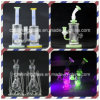 Shining Glass Perfect Color Small Glass Water Pipe for Smoking