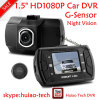 "New Hidden Design 1.5"" TFT 1080P Car Dash Camera Black Box with 5.0mega Car Digital Video Recorder DVR-1502"