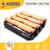 Durable in Use Compatible Ce270A Series Toner Cartridge for HP