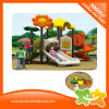 Sunflower Style Outdoor Play Equipment Spiral Slide for Kids