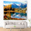 Polyester Nature Scenery Wall Hanging Tapestry