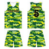 Customized Youth Dye Sublimation Basketball Uniform with Mesh Fabric