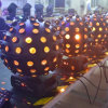 Newest RGBWA+UV 6in1 LED Big Magic Ball Light 98 Eyes