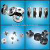 Flanged Ceramic Pulley Combined with Aluminum (Idler pulley)