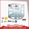 Hot Sale Curved Glass Warming Showcase for Food Warmer (HW-350A)