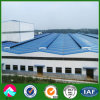 Good Ventilation Metal Structure Building with Monitor Roof