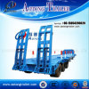 60-80t Flat Lowbed Semi Trailer for Sale