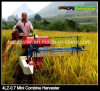 Self-Propelled Full Feeding 1200mm Cutter Head Mini Rice Harvester