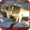 Animal King Statues Lion Robot Animals