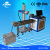 High Precision Flying Fiber Laser Marking System with Conveyor Device