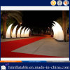 Customized Event Decoration LED Lighting Inflatable Tusk No. A003 with Polished LED Light for Sale