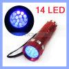 14 LED 395nm Black Light UV Flashlight Torch for Pet Dog Cat Urine Detector