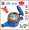 Multi Jet Dry Dial Brass Body Class B Pn 16 Bar Water Meter