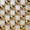 Hot Sale Golden Glass Mosaic (VMW3501)