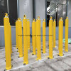 Telescopic Hydraulic Cylinder with 4 Extensions for Trailer