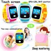 Colorful Touch Screen Kids GPS Watch with Multiple Languages (Y8)