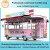 New Design Ice Cream Truck/Mobile Food Trailer for Sale