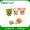 USB Pendrive Flash Memory Cartoon Bear PVC USB Flash Drive