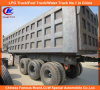 35tons Payload 3 Axles Mining Dump Semi Trailer