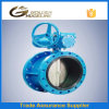 Cast Iron Flange Type Butterfly Valve with Bare Stem