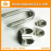 Stainless Steel U Bolt with Dual Mouting Plates
