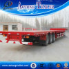 3 Axles Cargo Transport Versatile Trailer / Flatbed Container Semi Trailer